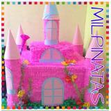 Piñatas De Castillo.fabrica.fiestas.frozen.princesas