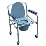 Cadeira Higiênica De Banho Em Alumínio Dobravel