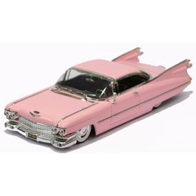 Miniatura Cadillac Coupe De Ville 1958 Rosa Jada 1/24