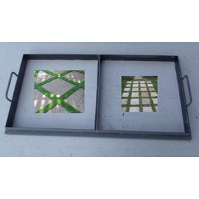 Forma Manual Para Placas De Jardins Calçadas 50 X 50 X 6 Cms