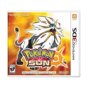 Jogo Pokemon Sun Nintendo 3ds 3ds-xl Pronta Entrega