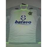 Camisa Do Flamengo Oficial Cinza/verde Tamanho G Promoção