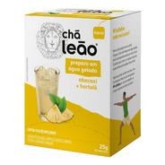 Chá Leão Água Gelada - Abacaxi E Hortelã 10 Sachês
