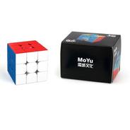3x3x3 Meilong M Cubo Rubik Magnético Velocidad Moyu