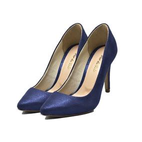 3bdb96b3a Kit Florais Cor Principal Azul - Scarpins e Plataformas para ...