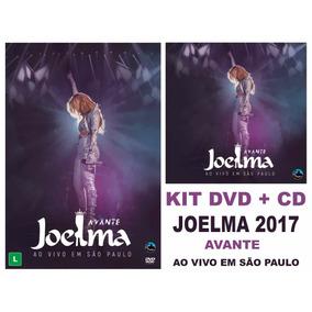 Kit Cd + Dvd Joelma Avante Ao Vivo Em São Paulo ( Lacrado )
