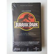 Jurassic Park Filme Vhs Legendado Lacrado