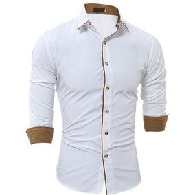 Detalles Personalizados Para Hombres - Camisas Manga Larga de Hombre ... f90f73e716bf9
