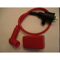 Kit Cdi+bobina+cabo+cachimbo Crf230 Xr Nx 200 Titan 125 99