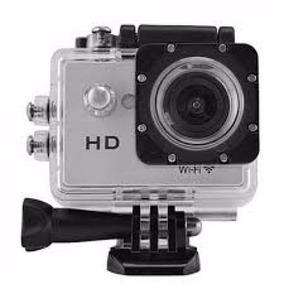 Filmadora Powerpack Accion Sport Pro-w2068 Wifi Prata