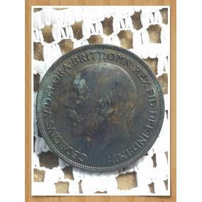 Moneda Inglaterra One Penny 1915 Ref P 16 -4