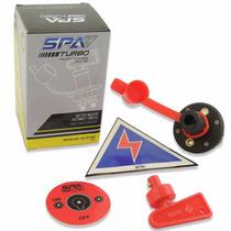 Chave Geral Automotiva C/ Adesivo Furação E Sinalização Fia