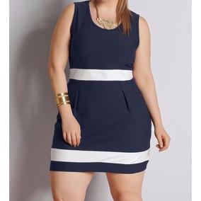 Vestido Social Formal Casual Plus Size