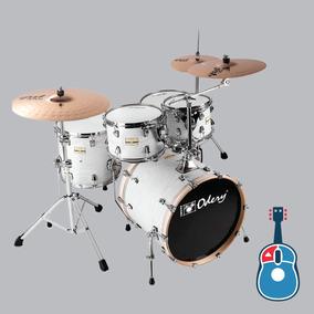 Bateria Odery Fluence Jam Session Fl220 White Ash + Nf