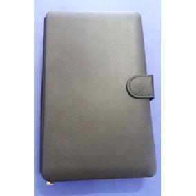 Capa Case Couro Tablet 7 Com Teclado Usb Em Português