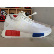 Adidas White Nmd Runner R1 Primeknit Nba Boots Yeezy