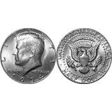 Estados Unidos 1 Moeda De Half Meio Dólar Americano Vários
