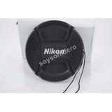 Tapa Cubre Lente Nikon 58mm Con Hilo D3100 D3000 D5100 D70