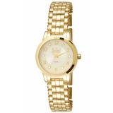 Relógio Dumont Feminino Du2035lmr/4x Analógico Dourado