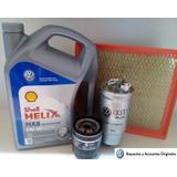 Kit Filtros + Aceite 4lt Volkswagen G.trend/voyage/suran/fox