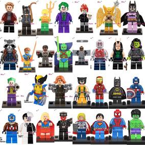 Set 30pcs Dc Marvel Hiedra Venenosa Aquaman Compatible Lego