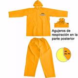 Equipo De Lluvia Impermeable Pantalon Campera Ingco Pvc 40%
