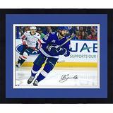 Enmarcado Nikita Kucherov Tampa Bay Lightning Autografiado 1