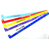 Pulseras Personalizadas P/ Control Plasticas C Clip 1000 Uni