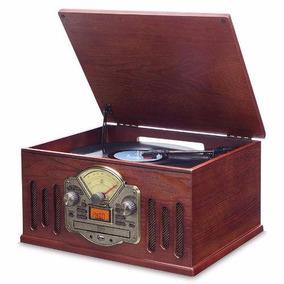 Toca Discos Vinil Scala Vitrola Conversor Mp3 Usb Cd Vintage