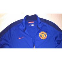 Chamarra Manchester United Nike Azul Talla Chica S