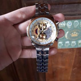 bab948ec10e Relogio Casio Edifice 5147 Ef 550 Dourado - Relógios De Pulso no ...