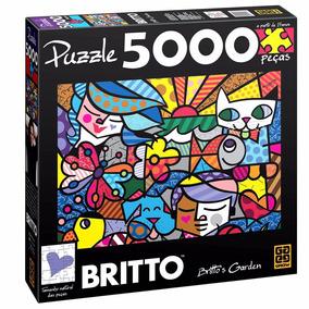 Puzzle 5000 Peças Romero Britto - Brito