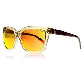 3b87a3a025 Gafas De Sol Michael Kors Q - Lente Café Marco Dorado