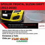 Spoiler Frontal De Parachoque Tuning Suzuki Swift 2015 2016