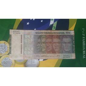 Cédula Comemorativa De 500 Cruzeiros - Etnias
