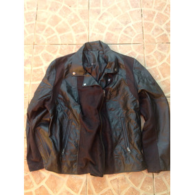 Casaca Motos Rock Eco Cuero Talla Xl