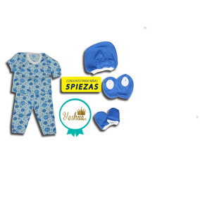 Pijama De Bebe Recien Nacidos, 5 Piezas, Talla 0-6 Meses
