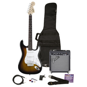 Combo Guitarra Electrica Squier By Fender Affinity Strat Pac