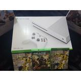 Xbox One Slim 500gb C/ 2 Juegos Gratis. Nuevos Sellados.