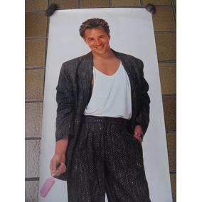 Poster Don Johnson Do Ano De 1986