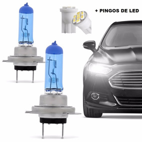 Kit Lampada Farol Super Branca H4 8500k Fox Spacefox + Pingo
