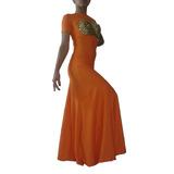 Vestido Pollera Baile Danza Arabe Modal Con Lycra 6 Godets