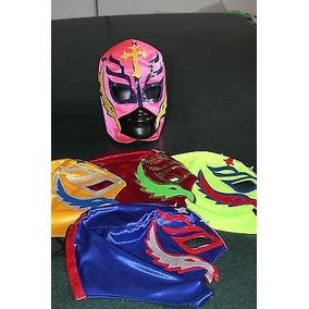 Mascara Wwe Lucha Libre Halloween Rey Mysterio Escolhe A Cor