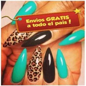 200 Tips Stiletto + Resina Decoracion Uñas Acrilico