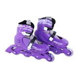 Roller In-line Patins 4 Rodas Radical P (28-31) Roxo