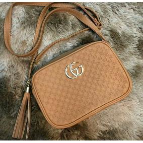 Bolsa Feminina Gucci Couro Sintetico Lançamento Várias Cores. 4 cores. R  80 4226314527