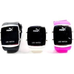 Relógio De Pulso Masculino Feminino Digital Puma Led