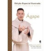 Livro-padre Marcelo Rossi Agape Edicao Ilustrada Inclui Cart
