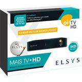 Kit Completo Oi Tv Livre Hd - Habilitada + 17mcabo + Antena.