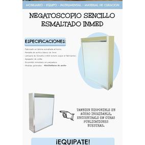 Negatoscopio Sencillo, Esmaltado.